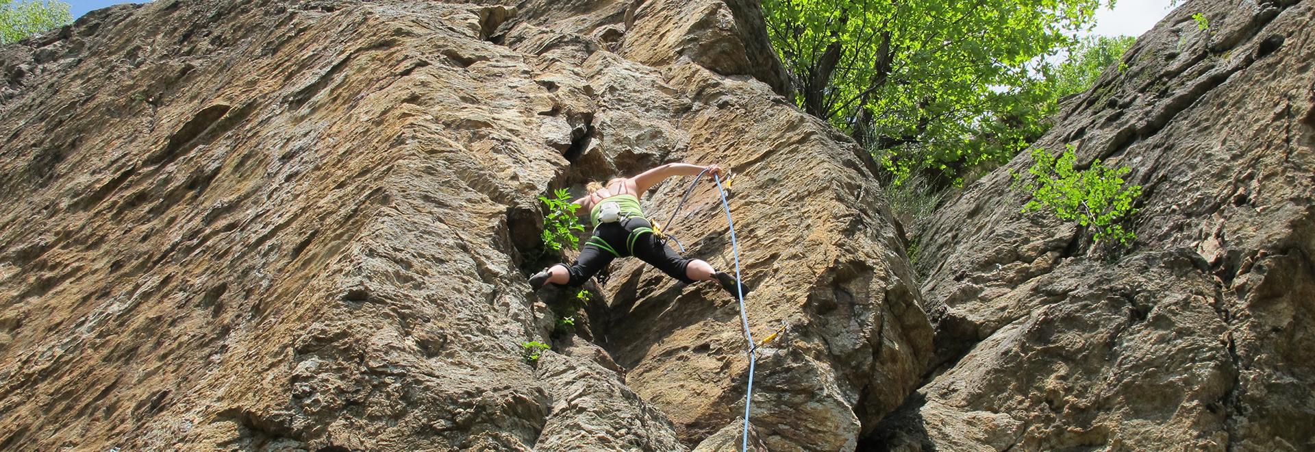 Climbing course – Advanced module