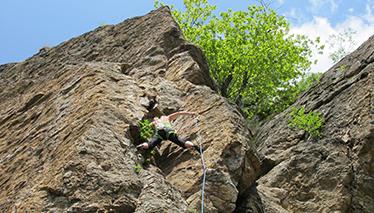 Corso di arrampicata sportiva - modulo avanzato