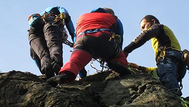 Corso di arrampicata sportiva - modulo base