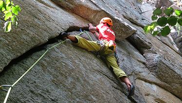 Corso di arrampicata TRAD - modulo avanzato