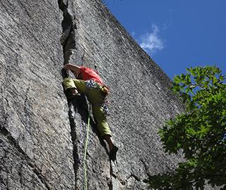 Trad climbing course – beginners module