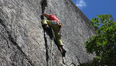Trad climbing course - beginners module