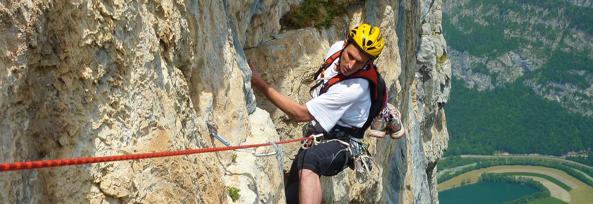 Climbing in France