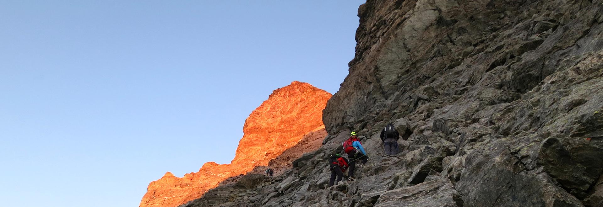 Matterhorn, the Ridges' Traverse