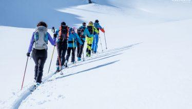 Ski mountaineering course - basic module