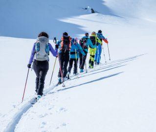 Corso di scialpinismo – modulo base