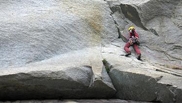 Rock climbing training courses