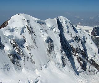 Lyskamm – North Face