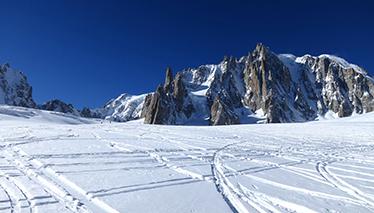Mont Blanc Vallée Blanche