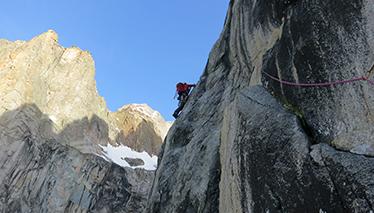 Multi-pitch climbs