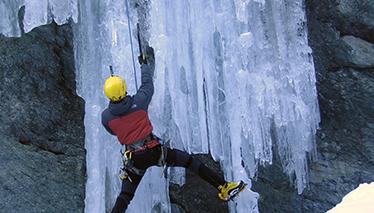 Ice-climbing - Advanced training module