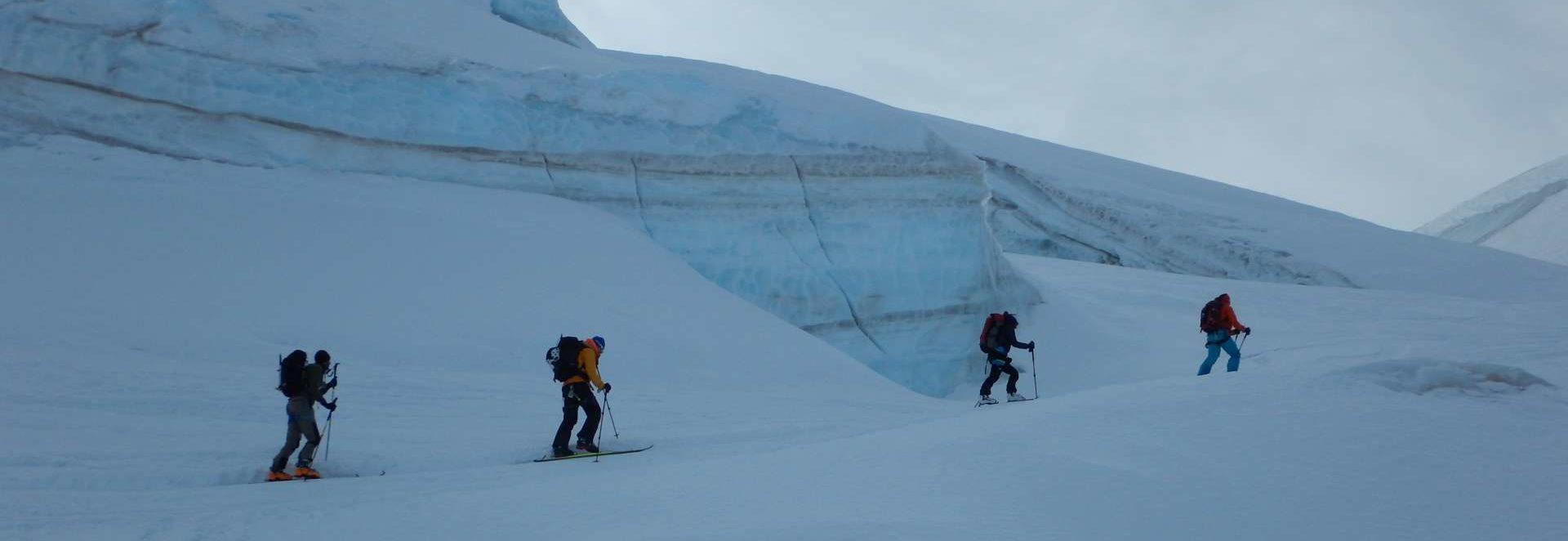 Gran Paradiso con gli sci