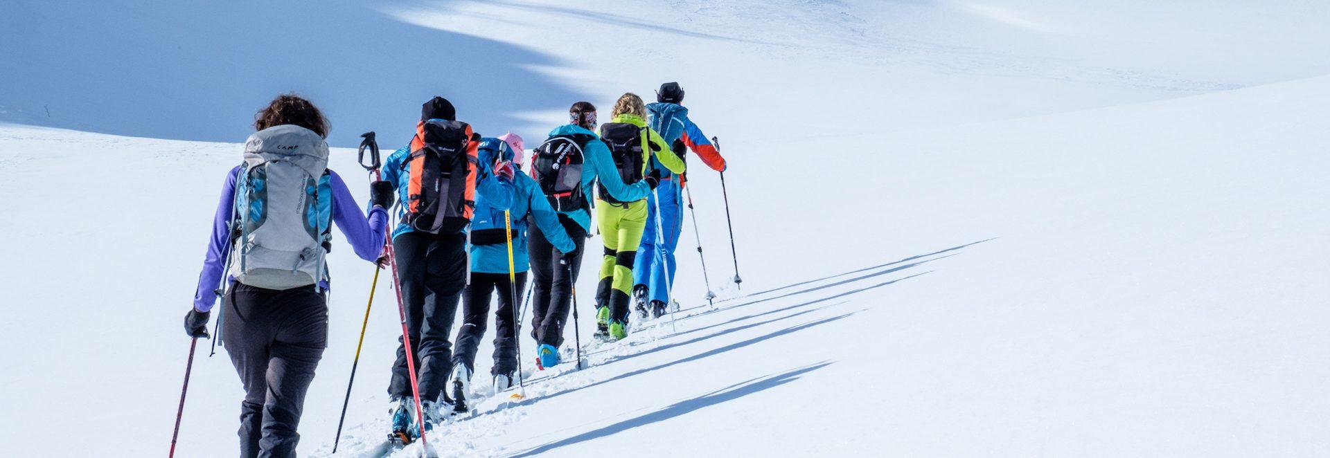 Corso di scialpinismo - modulo base