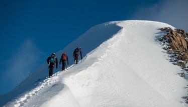 Mountaineering Classic climbs
