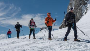 Col d'Entrèves - Escursione su ghiacciaio